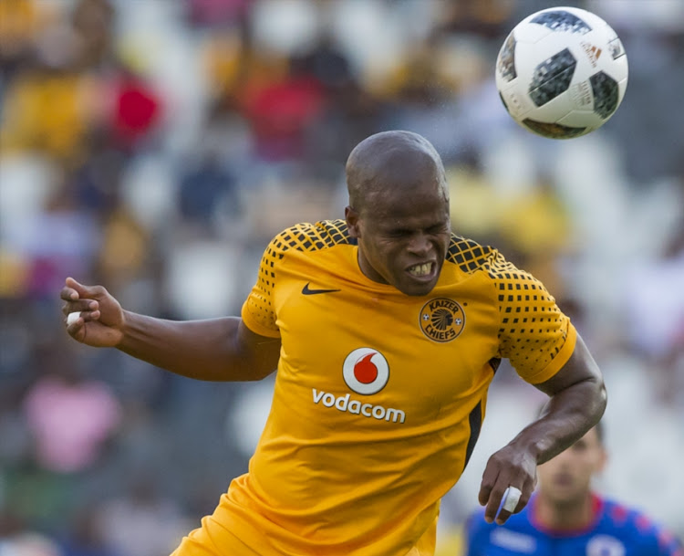 Willard Katsande of Kaizer Chiefs during the Absa Premiership match between SuperSport United and Kaizer Chiefs at Mbombela Stadium on January 06, 2018 in Nelspruit, South Africa.
