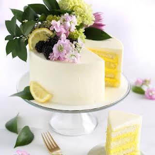 Lemon Elderflower Cake.
