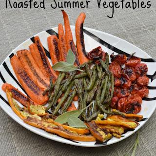 Roasted Summer Vegetables with Sage.