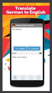 german english translator android apps on google play. Black Bedroom Furniture Sets. Home Design Ideas