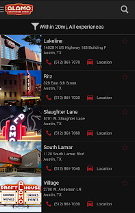 Alamo Drafthouse Ticketing App- screenshot thumbnail