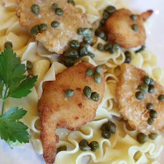 Shrimp with Lemon Wine Caper Sauce – 15 Minute Meal Recipe