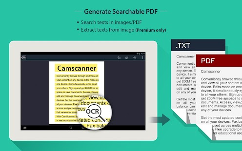 CamScanner HD - Scanner, Fax Screenshot