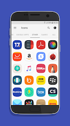 UX Experience S8 - Icon Pack APK screenshot thumbnail 5