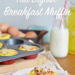 Full English Breakfast Muffin.