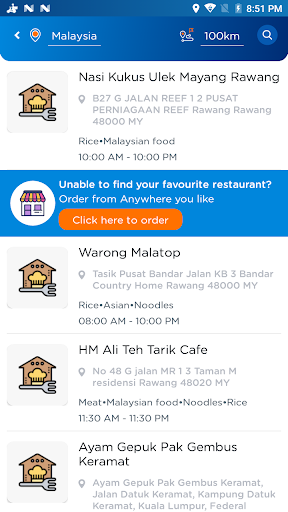 Bungkusit - Food and Parcel Delivery 6.4 screenshots 4