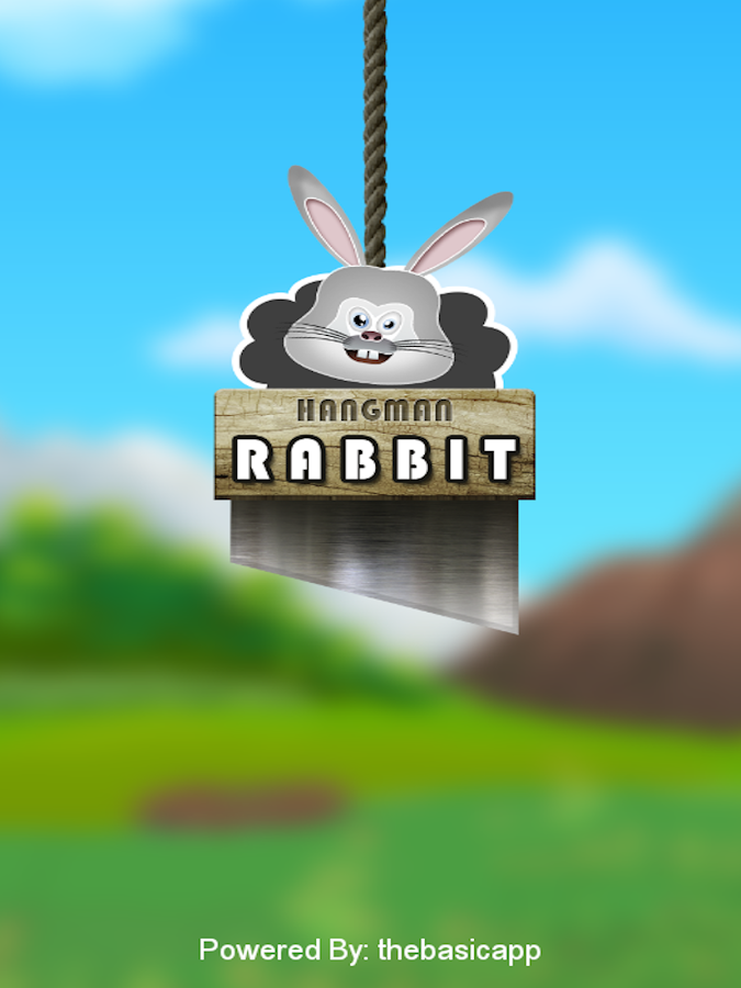 Hangman: Save Poor Bunny- screenshot