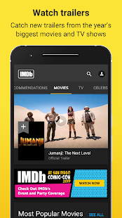 IMDb Movies & TV Shows: Trailers, Reviews, Tickets Screenshot