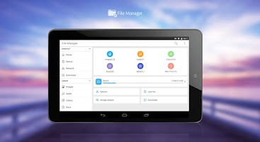 Screenshot of File Manager (File transfer)