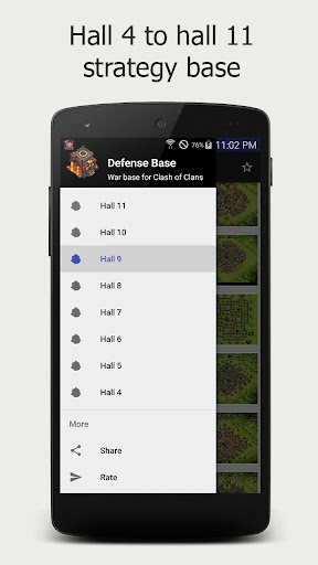 Strategies Maps for Clash of Clans for PC