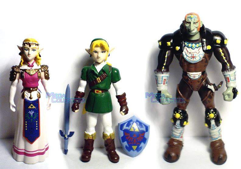 Details About Legend Of Zelda Ocarina Of Time Link Ganondorf 4 Nintendo Power Exclusive 3pk