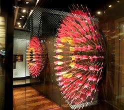 Photo: Interesting window display made of arrows
