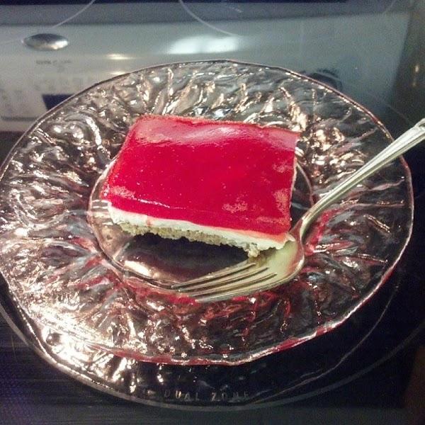 Pretzel Strawberry Salad Recipe