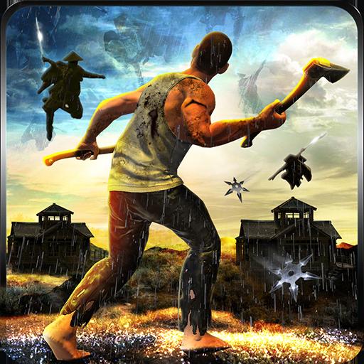 Hero Survival Vs Ninja Assassin: Lost Island Sim