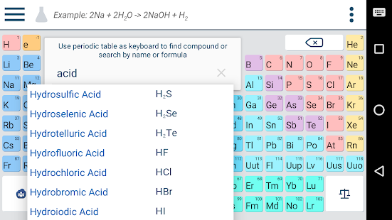 Chemik chemistry homework helper android apps on google play urtaz Image collections