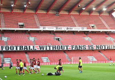 📷 Club Brugge, Standard, Antwerp, ... iedereen mist de twaalfde man