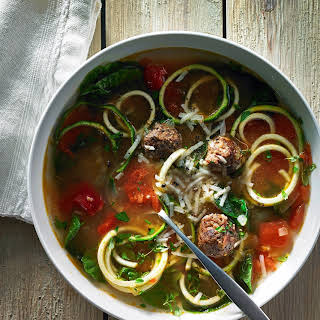 Chicken Zucchini Wedding Noodle Soup.