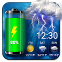 Weather Widget & Battery Checker icon