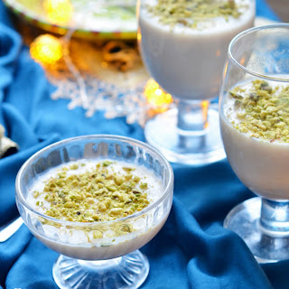 Mhalbi – Algerian Rice Pudding.
