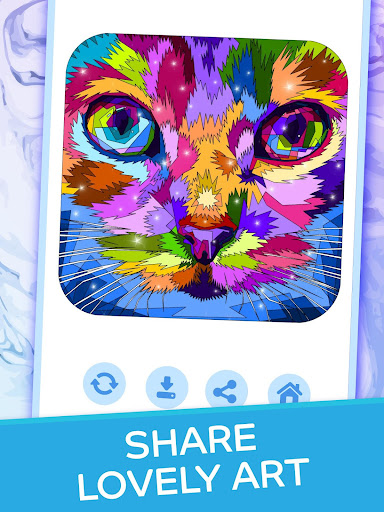 Dream Art - Color by Numbers apkpoly screenshots 14