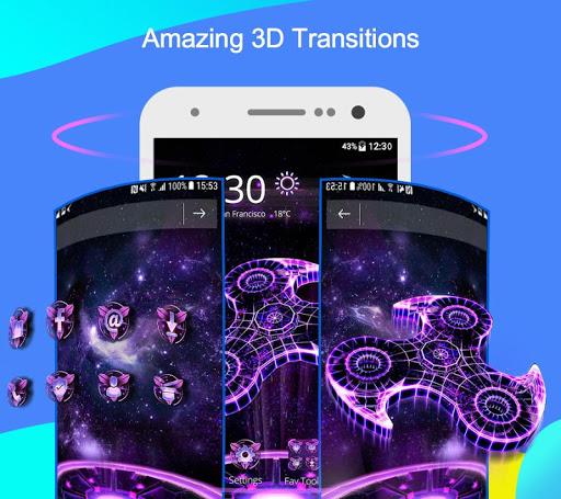 CM Launcher 3D - Theme,wallpaper,Secure,Efficient screenshot 5