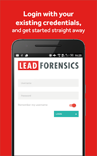 Lead Forensics- screenshot thumbnail