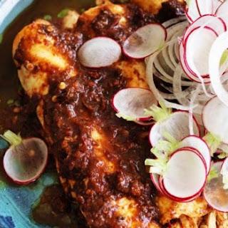 Quick Chicken Enchiladas.
