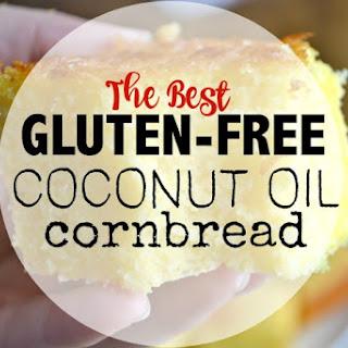 Gluten-Free- Coconut oil Cornbread