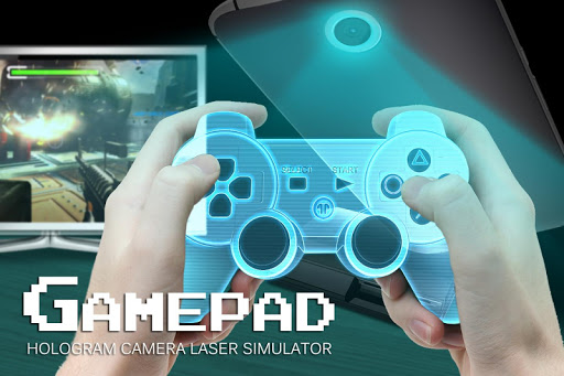 Gamepad hologram camera