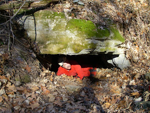 Photo: The entrance to Doe Mountain Cave.