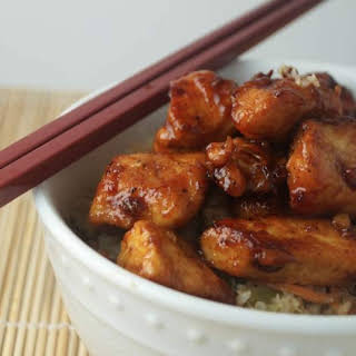 Honey Garlic Chicken.