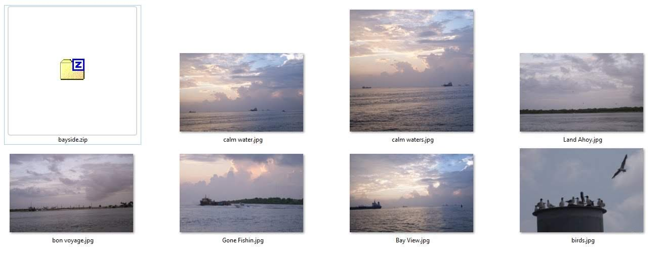 Bayside is a series of photos shot in Galveston Bay that are available for purchase!