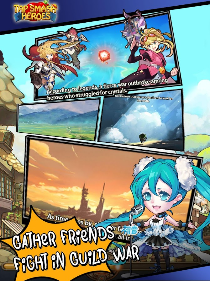 Tap Smash Heroes: Idle RPG Game Android 10