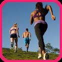Slimming exercises icon