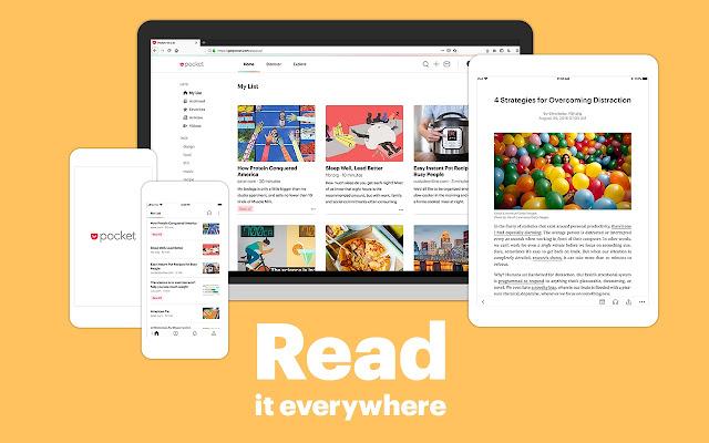 Save to Pocket - Chrome Web Store