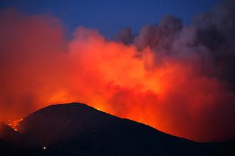 Photo: Topaz Ranch Estates Fire, Gardnerville, Nevada, May 22, 2012.
