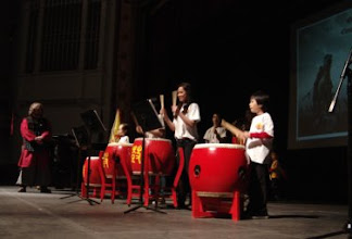 Photo: Where is General's flag? CNY, Chinese Drumming