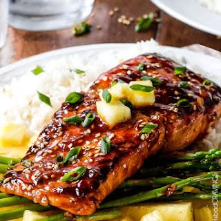 Salmon Soy Sauce Ketchup Recipes