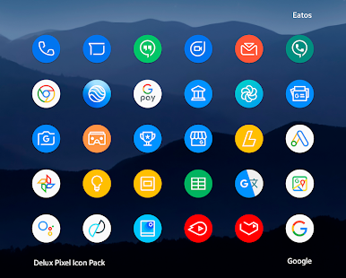 Delux - Pixel Icon pack Screenshot