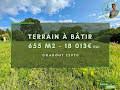 Terrain Nb pièces NC 655m² Coadout