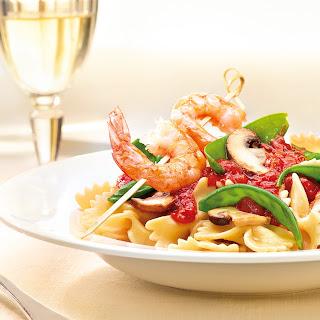 Garnelen & Pasta alla Pecorino