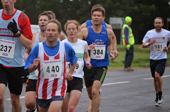 Photo: Kevin Tilley and Ian Shelley just behind - Photo courtesy of Paul Hammond