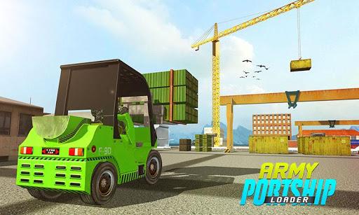 Military Cargo Loader Truck 1.0.3 screenshots 1