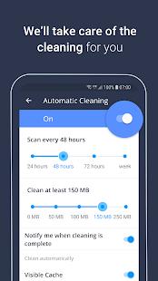 Captura de pantalla de AVG Cleaner - Limpiador de basura, memoria y amplificador de RAM