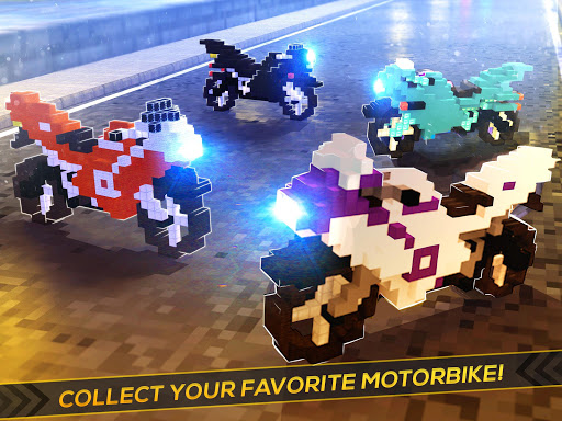 Blocky Superbikes Race Game - Motorcycle Challenge apkmr screenshots 9