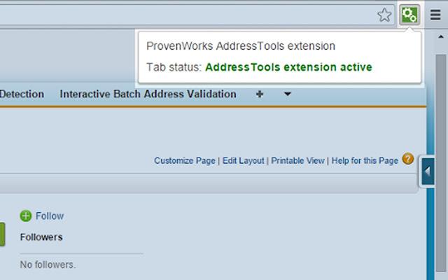 AddressTools extension chrome extension
