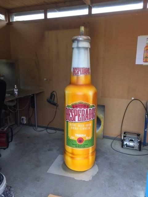 Desperados 3D fles in groot formaat.