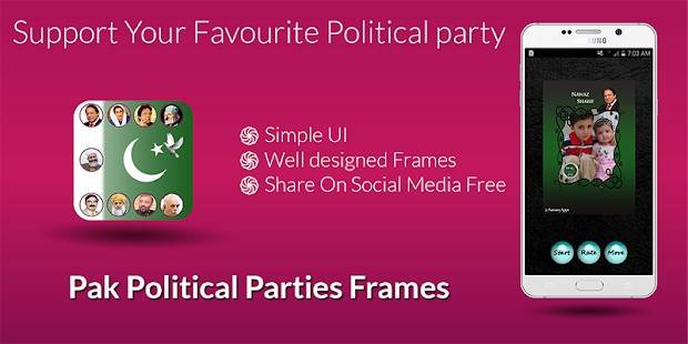 PAK Political Parties Frames - náhled