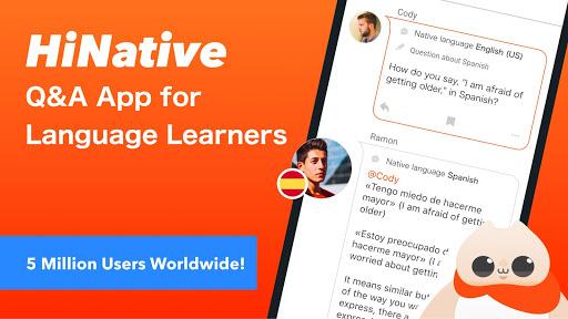 HiNative - Q&A App for Language Learning screenshots 1