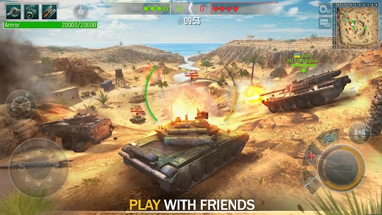Tank Force: Modern Military Games Mod Apk (One Hit Kill) 1